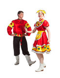 Russian dance Royalty Free Stock Photos