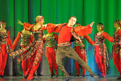 Russian dance Stock Photo