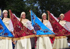 Russian Dancers Stock Images
