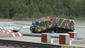 RUSSIAN DEFENCE EXPO 2012 stock video footage