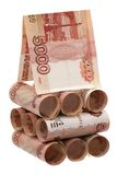 Russian denominations Stock Photo
