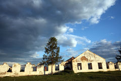 Russian depot in Mongolia Stock Images