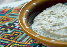Russian dish of oatmeal Royalty Free Stock Photos
