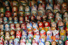 Russian Doll (1). Russian Doll at market stall stock images