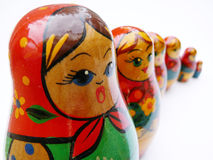 Russian Doll stock images