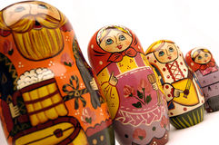 Russian doll group Stock Photography