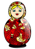 Russian doll Royalty Free Stock Images
