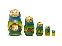 Russian doll - matreshka Royalty Free Stock Photography