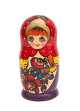 Russian doll - matreshka Royalty Free Stock Image