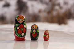 Russian doll Stock Photo