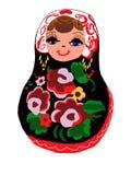 Russian Doll - Matryoshka - Nesting Doll Royalty Free Stock Photography