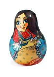 Russian doll nevalashka Stock Photo
