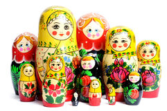 Free Russian Doll On The White Royalty Free Stock Image - 11359826