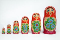 Russian Dolls Stock Image