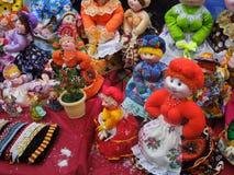 Russian dolls Royalty Free Stock Photos
