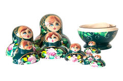 Russian Dolls Stock Photo