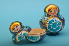 Russian Dolls. Royalty Free Stock Photos