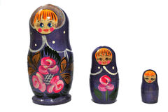 Russian dolls stock images