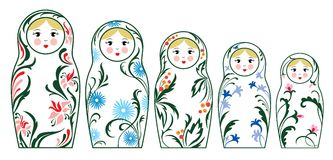 Free Russian Dolls Royalty Free Stock Photography - 3270097
