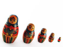 Russian Dolls royalty free stock photography