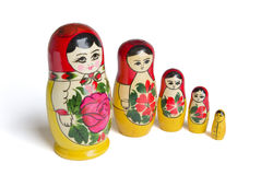 Russian dolls - stock photos