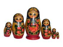 Russian Dolls - 9 stock photo