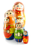 Russian dolls. It is beautiful russian dolls Stock Images