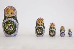 Russian dolls Stock Image