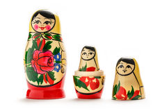 Russian dolls matreshka Stock Photo