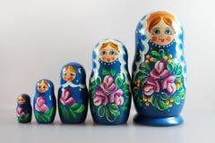 Russian dolls - matrioshka Royalty Free Stock Photos