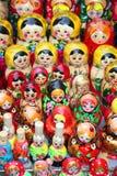 Russian dolls matruska Stock Image