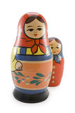 Russian dolls (nested doll). National Russian toy (nested doll) (Matrecjka Stock Photos