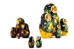 Russian dolls - Romeo and Juliet Royalty Free Stock Photography