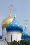 Russian domes Stock Photos