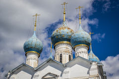Russian Domes Royalty Free Stock Photography