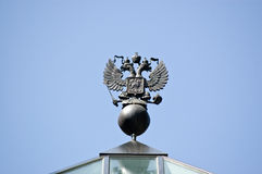 Russian Double Headed Eagle Stock Photos