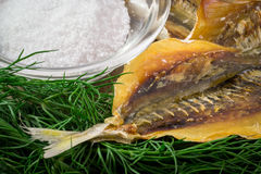 Russian Dry Salted Fish Snack Royalty Free Stock Image