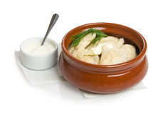 Russian dumplings Royalty Free Stock Photography