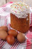 Russian Easter cake Royalty Free Stock Photo