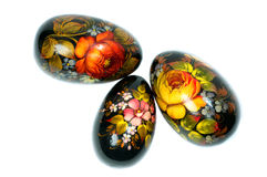 Russian Easter Eggs Stock Images