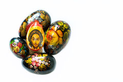 Russian Easter Eggs Royalty Free Stock Image