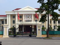 The Russian Embassy, Hanoi Stock Photo