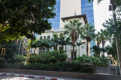 The Russian Embassy house in Tel Aviv Royalty Free Stock Photography