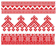 Russian embroider old Stock Image