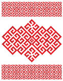 Russian embroider texture Stock Images