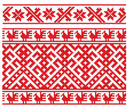 Russian embroidery Royalty Free Stock Images