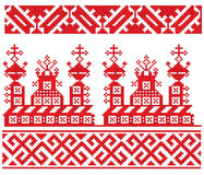 Russian embroidery church Stock Photo