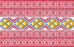 Russian embroidery. Stock Photography
