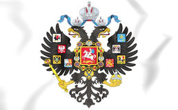 Russian Empire Coat of Arms. 3D Illustration stock illustration