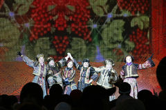 Russian ensemble concert Stock Photos